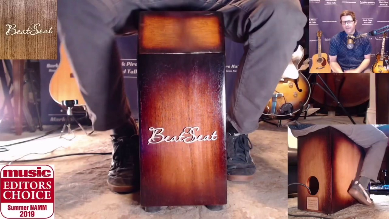 BeatSeat™️ Percussion Demonstration - 2019 Summer NAMM Editors Choice Winner