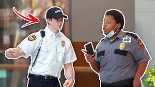 FAKE MALL COP PRANK! (Kicked Out)