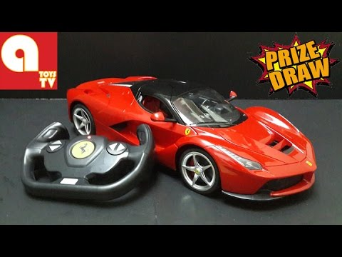 FREE TOYS GIVEAWAY Ferrari LaFerrari Remote Toy Car topgear fast and furious - YouTube