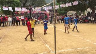 volleyball tournament syangja vs tanahun