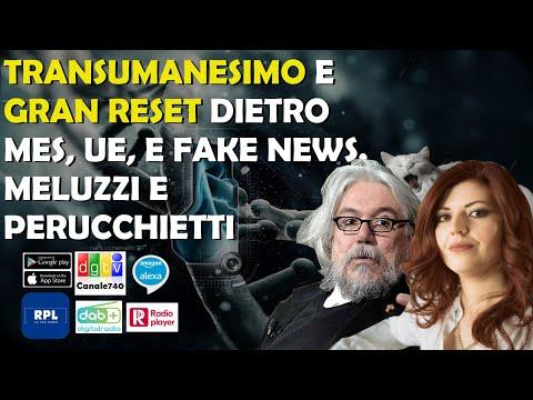 Meluzzi e Enrica Perucchietti: Transumanesimo e Gran Reset dietro a MES, UE e FakeNews.
