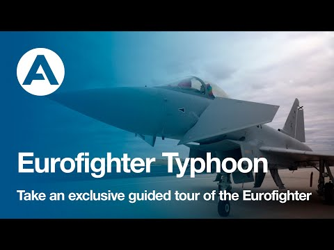Take an exclusive guided tour of the Eurofighter