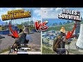 PUBG Mobile vs. Rules of Survival! (Which Game is Better)