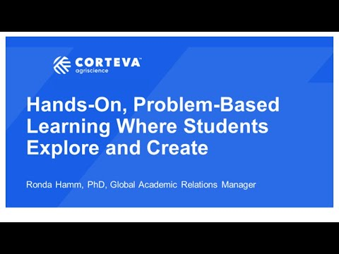 Hands On, Problem Based Learning Where Students Explore And Create