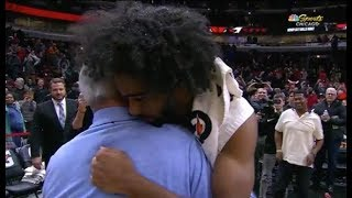 Coby White Thanks Roy Williams For Attending Game After Career Night For Chicago Bulls