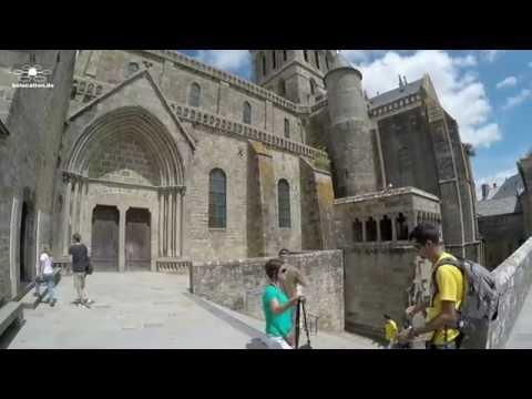 Tour de France, mit dem Motorrad durch Frankreich Teil 3 Le Mont Saint Michel