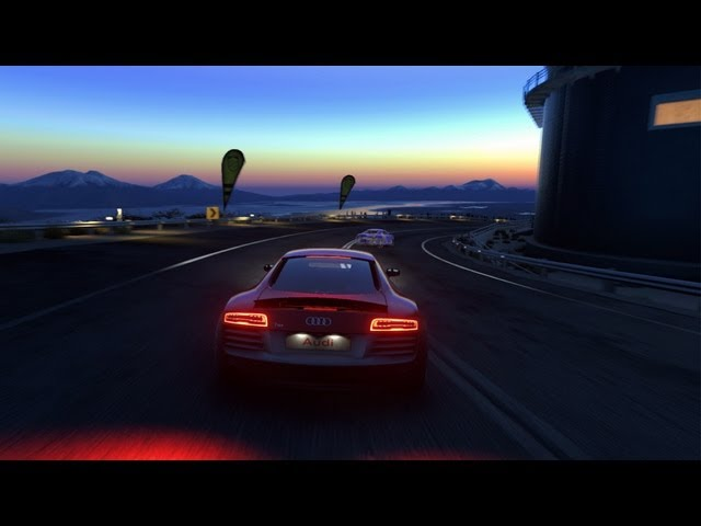 #DRIVECLUB Time Trial at Night | Audi R8 V10 Plus | PS4 Gameplay (HQ 1080p)