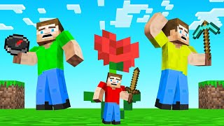 HUNTERS vs TINY SPEEDRUNNER in Minecraft!