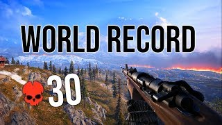 Battlefield 5 Firestorm World RECORD Kills!   30 Total Squad Kills! Battle Royale
