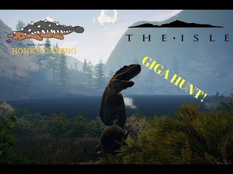 Honk's THE ISLE realism gameplay: Second Origins server pt13, GIGA HUNT!