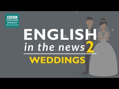 bride phrases in english