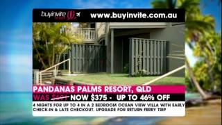 Buyinvite: Pandana Palms Resort, Qld Thumbnail