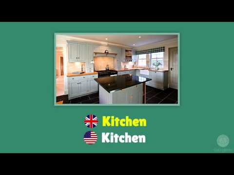 Rooms In The House In English