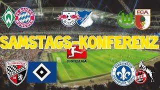 Bundesliga 18.Spieltag - Samstagskonferenz - FIFA 17 Prognose
