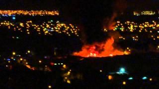 Incendio de Fábrica en Macul 27 junio 2013