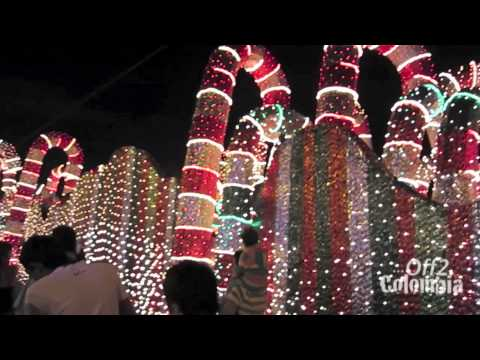 Beautiful! Medellin Colombia Christmas lights