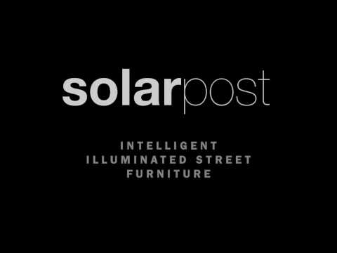 solarpost solar powered lighting bollards