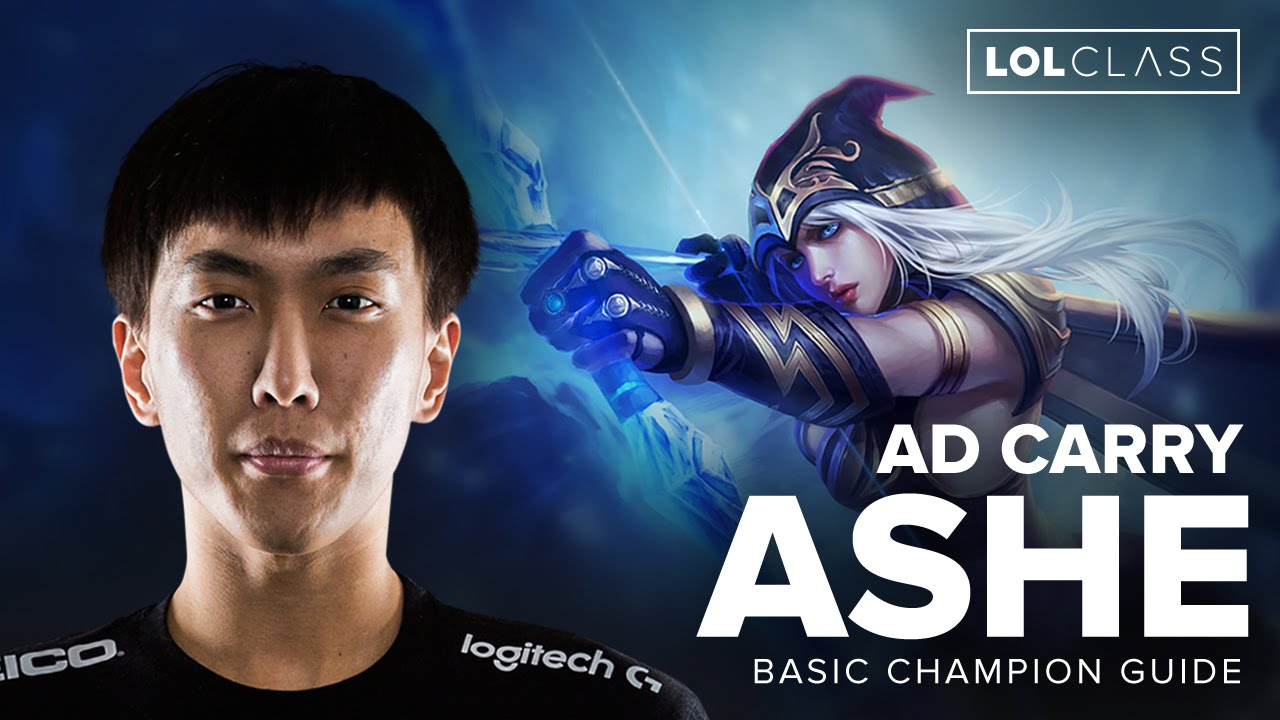 Ashe AD Carry Guide with TSM doublelift - Season 6 | League of Legends -  YouTube
