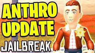 🔴 Roblox Jailbreak ANTHRO UPDATE! *RTHRO* | Anthro Reveal | Jailbreak Volcano Erupting Soon LIVE thumbnail