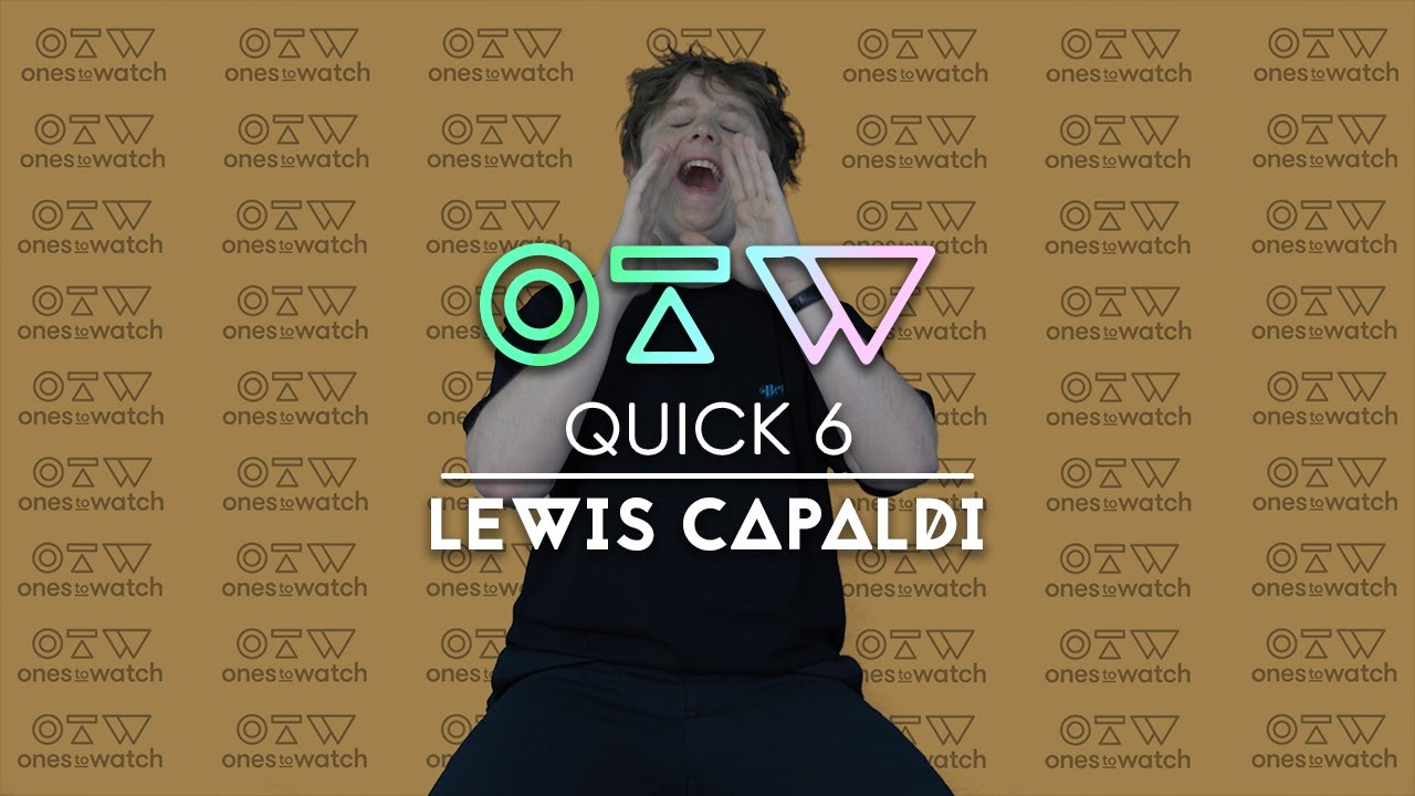 Lewis Capaldi Shares His Tinder Bio, Does Karaoke, and Smells Niall Horan | Quick 6
