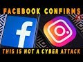 Why Facebook And Instagram Is Down ? | Cyber Attack | Social Media Applications |
