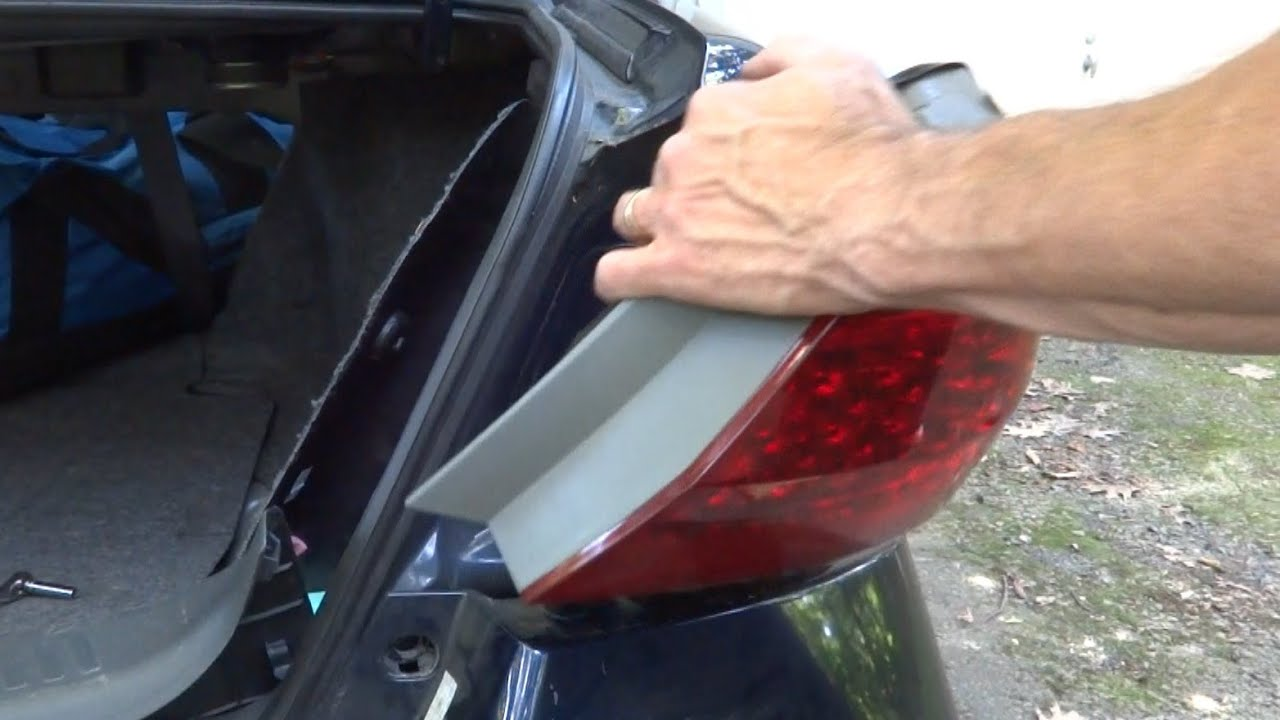 Replace Honda Accord Tail Light Assembly 2006 And Newer Youtube Acura Wiring Diagram