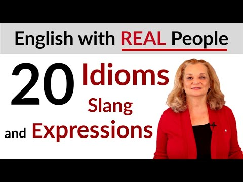 Learn 20 English Idioms And Slang With Native Speakers In L.A.