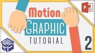 Cara Membuat Motion Graphic di PowerPoint #2 (Dragging Hand Effect)