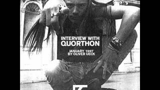 Interview with Quorthon (Bathory) 1997