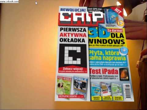 Okładka magazynu CHIP w technologii Augmented Reality