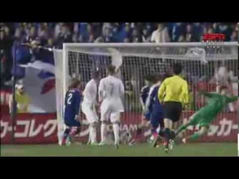 Chris Wood Second Amazing Goal ~ Japan vs New Zealand 4-2 ~ ( Friendly Match ) 05/03/2014