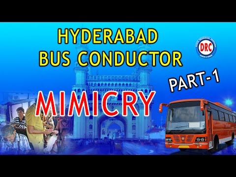Hyderabad Bus Conductor Mimicry Part-1 ||  Telangana Comedy Jokes