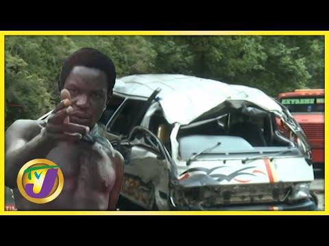 6 Shot in Hanover   Major Crash in Bog Walk Gorge   JDF Aircraft Crash in St. Catherine Jamaica
