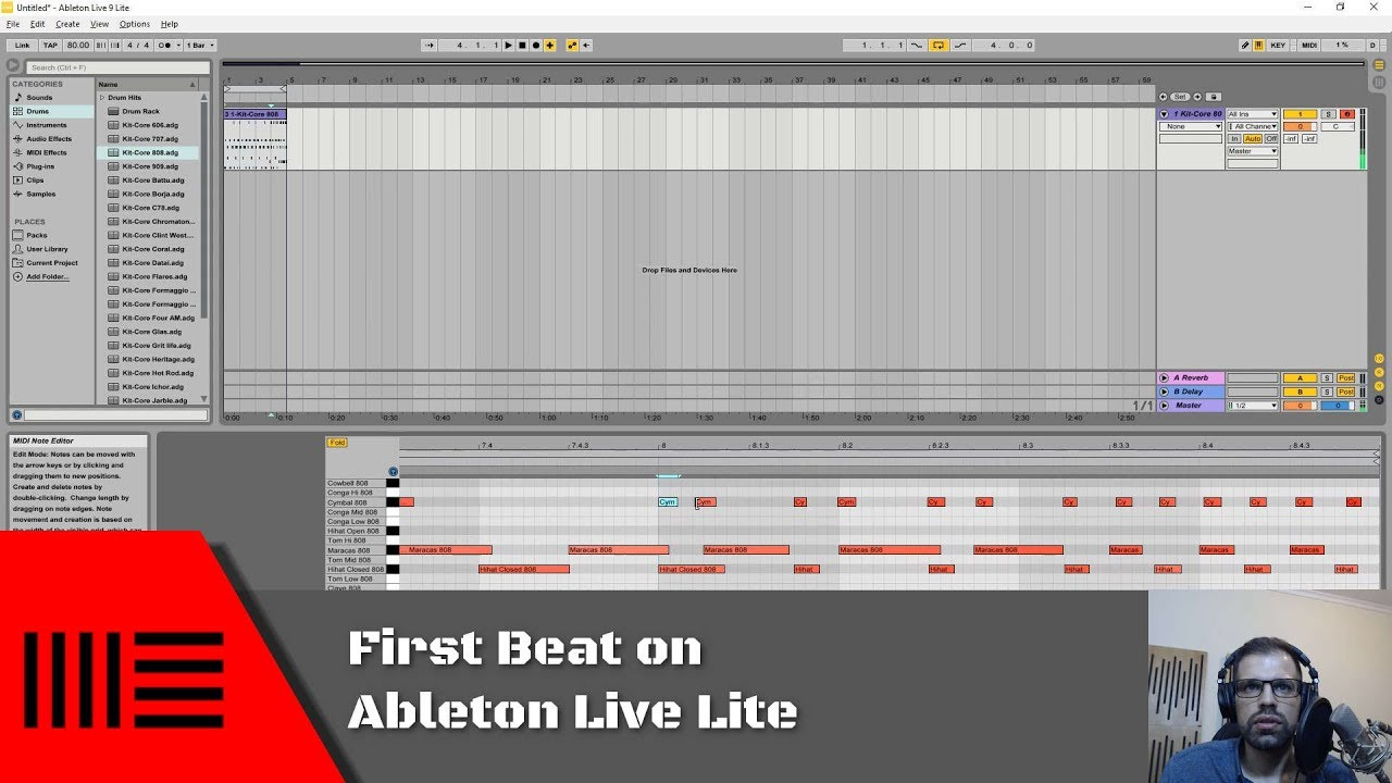How to layer & mix bass and leads // ableton tutorial youtube.