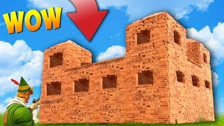 BUILDING A LEGENDARY CASTLE! (Fortnite Battle Royale)