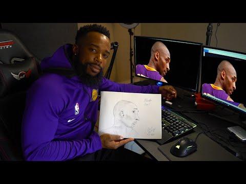 Drawing Kobe Bryant-Goodbye Kobe