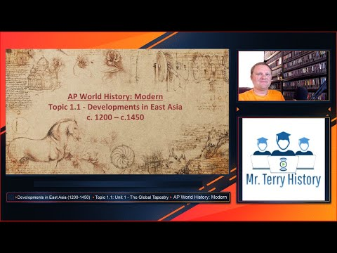 Topic 1.1 - Developments in East Asia (1200-1450)   AP World History: Modern