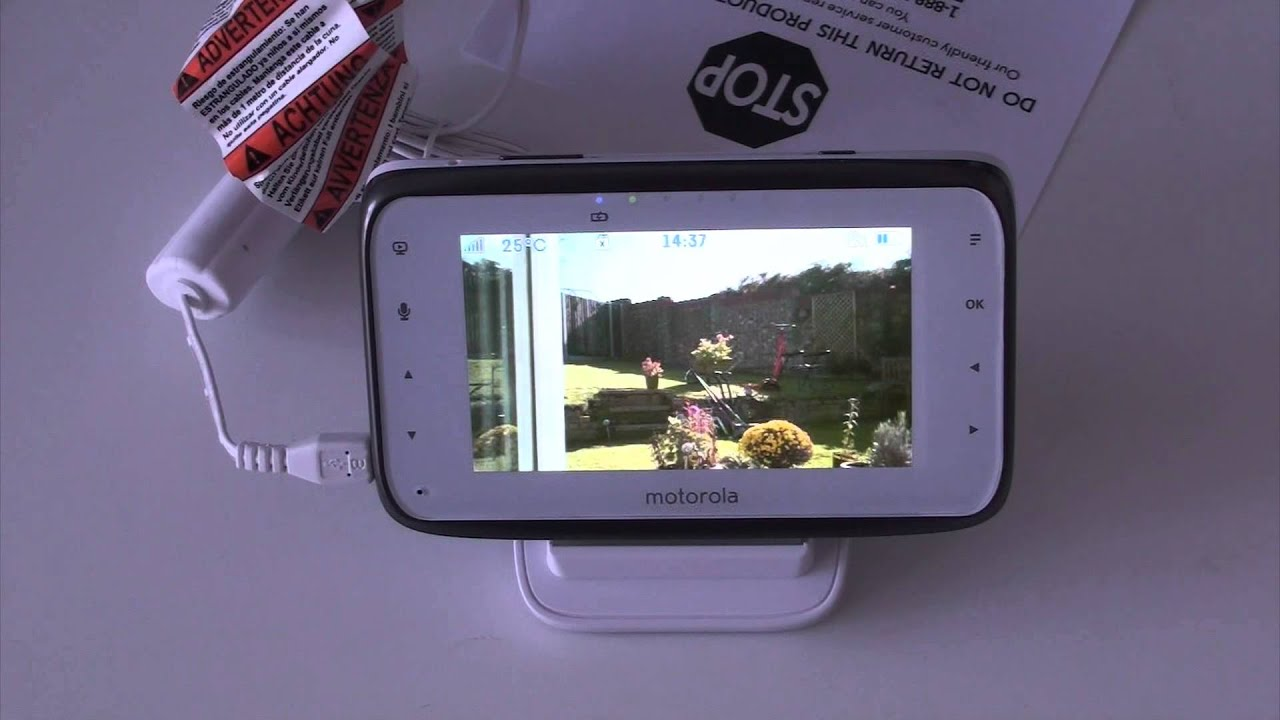 motorola mbp854 baby monitor review youtube. Black Bedroom Furniture Sets. Home Design Ideas
