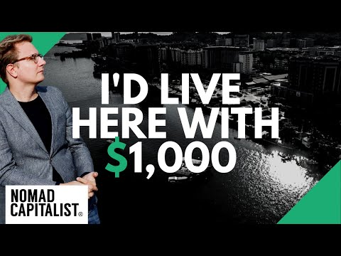 Best Places I Would Live With $1,000 Per Month