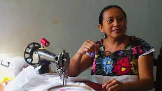 Mariana Canul - Bordadora de Xocén