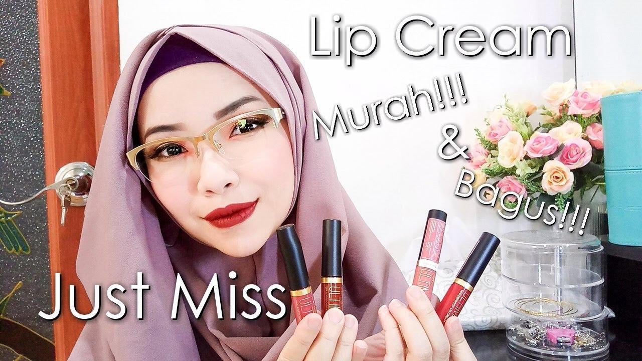 Just Miss Lip Cream Murah Bagus Cikal Ananda Youtube