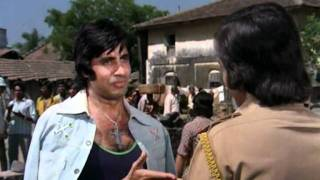 Amar Akbar Anthony Drama Scene Vinod Khanna Amitabh Bachchan Anthony Dares Amar