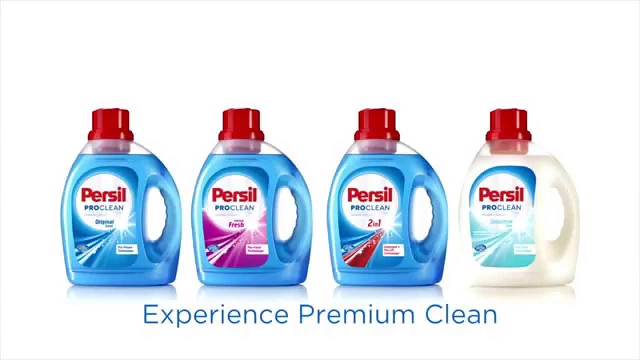 Persil proclean power liquid laundry detergents youtube solutioingenieria Images