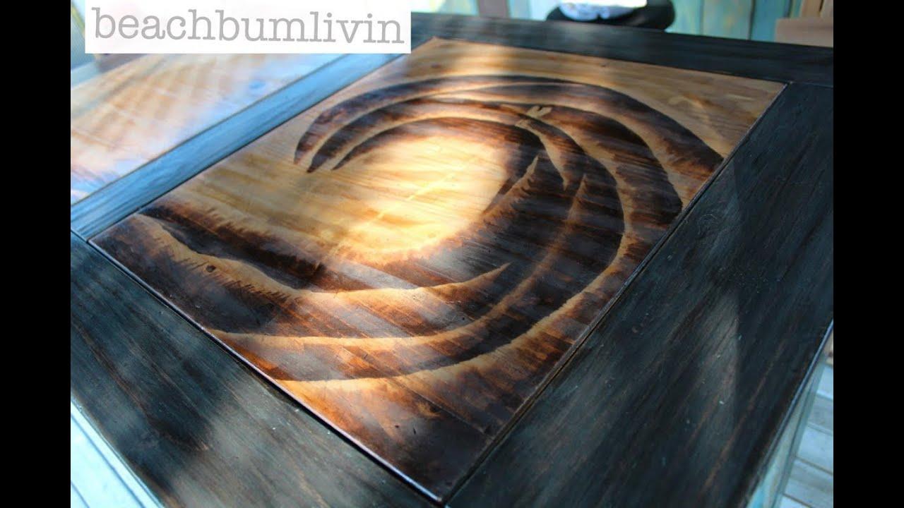 Howto PaintDistressAntique Furniture DESK PROJECT