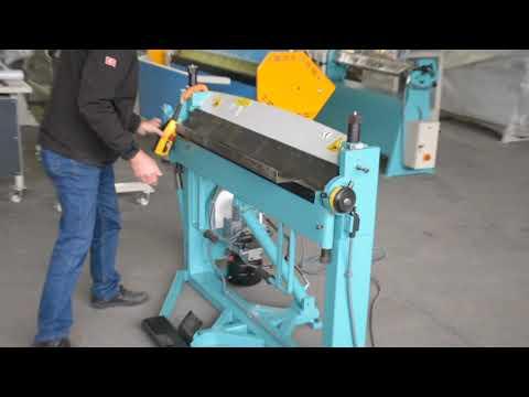 Ckl-h 1260 Hydraulic Bending - Segmented Blades