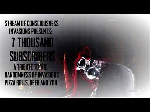 Dark Souls 3 Stream of Consciousness Invasions - Thanks x7000-