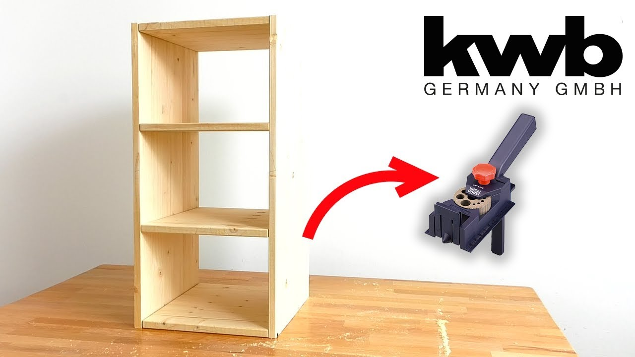 Einfaches Regal Bauen How To Build A Simple Diy Shelf With This Great Tool