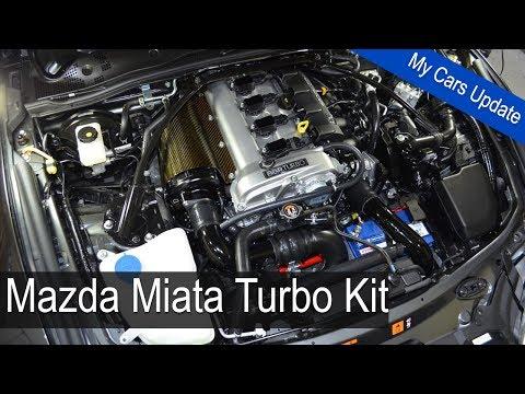 Mazda Miata Turbo Kit Brings Output to 248 HP - YouTube