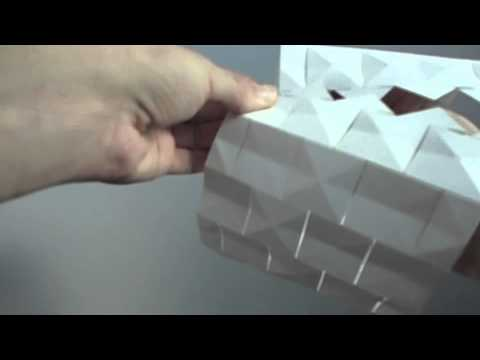 Tutorial foldable lampshade youtube tutorial foldable lampshade mozeypictures Image collections