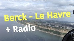 VFR Flight | DR400 | Berck - Le Havre Octeville + Communications Radio